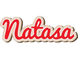 Natasa chocolate logo
