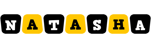 Natasha boots logo