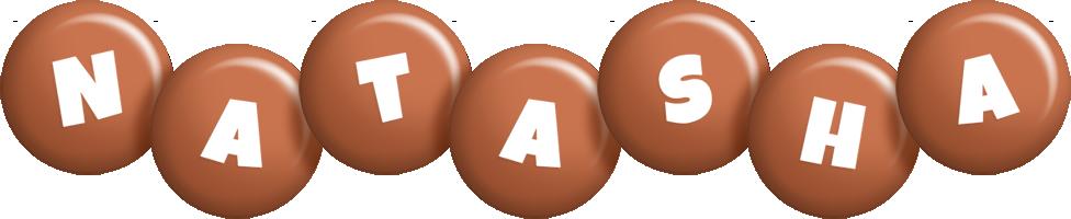 Natasha candy-brown logo