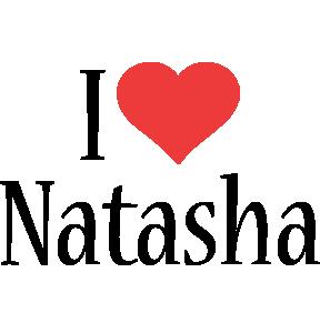 Natasha i-love logo