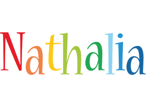 Nathalia birthday logo