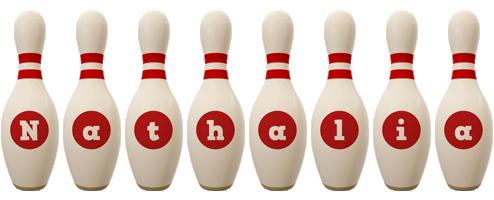 Nathalia bowling-pin logo