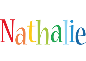 Nathalie birthday logo