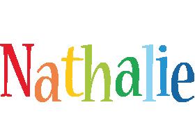 Nathalie birthday logo