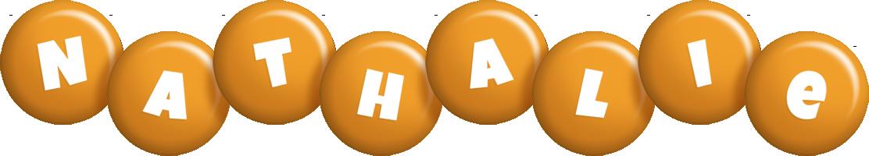 Nathalie candy-orange logo