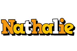Nathalie cartoon logo