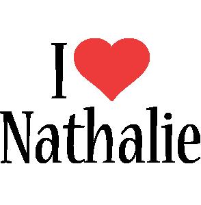Nathalie i-love logo