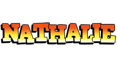 Nathalie sunset logo