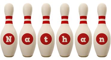 Nathan bowling-pin logo
