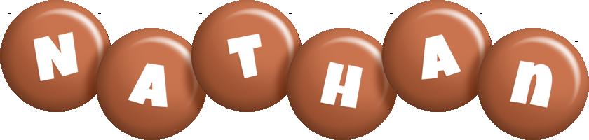 Nathan candy-brown logo