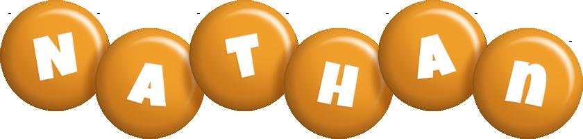 Nathan candy-orange logo