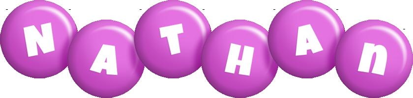 Nathan candy-purple logo