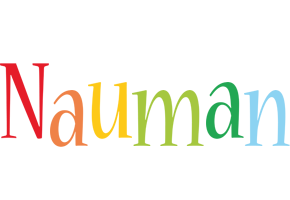 Nauman birthday logo