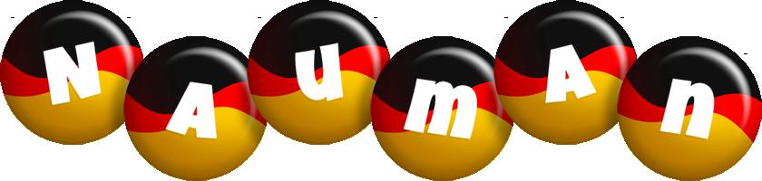 Nauman german logo