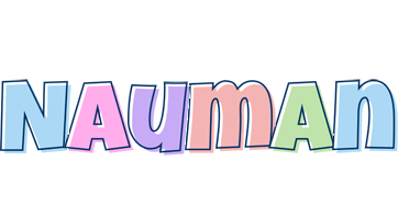 Nauman pastel logo