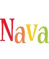 Nava birthday logo
