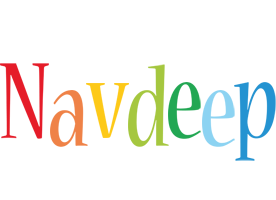 Navdeep birthday logo