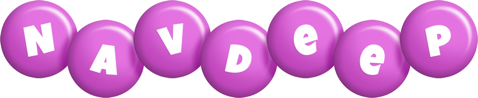 Navdeep candy-purple logo