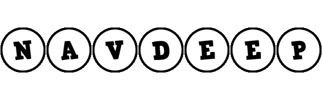 Navdeep handy logo