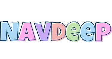 Navdeep pastel logo