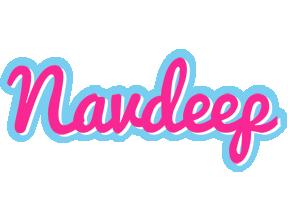 Navdeep popstar logo