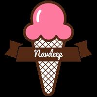 Navdeep premium logo