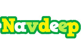 Navdeep soccer logo