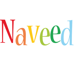 Naveed birthday logo