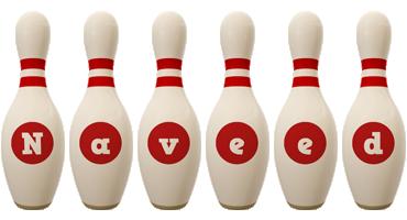 Naveed bowling-pin logo
