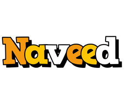 Naveed cartoon logo
