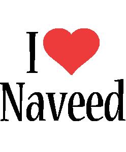 Naveed i-love logo