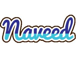 Naveed raining logo