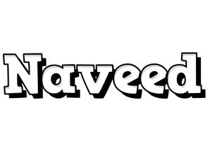 Naveed snowing logo