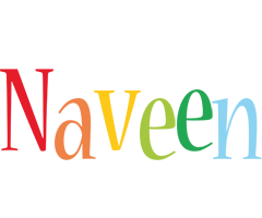 Naveen birthday logo