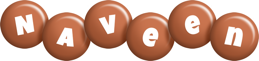 Naveen candy-brown logo