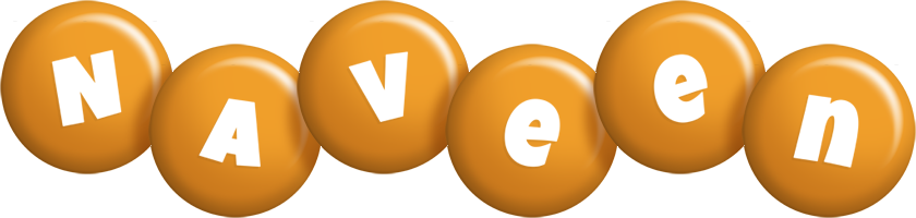 Naveen candy-orange logo