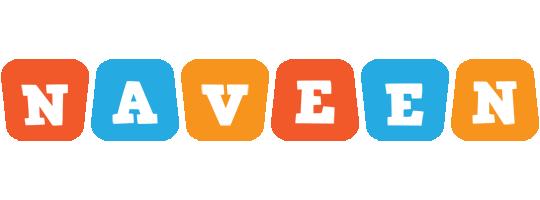 Naveen comics logo