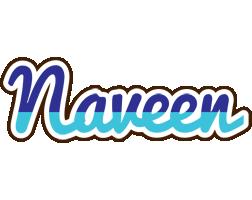 Naveen raining logo