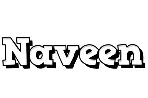Naveen snowing logo