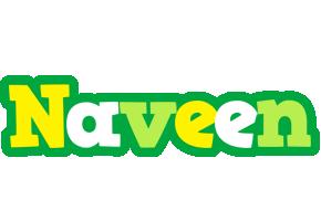 Naveen soccer logo
