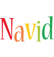 Navid birthday logo