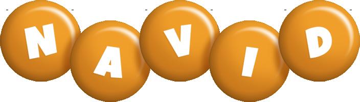 Navid candy-orange logo