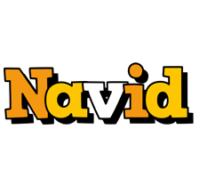Navid cartoon logo