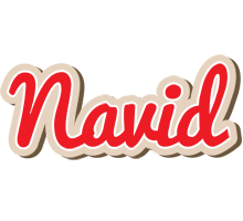 Navid chocolate logo
