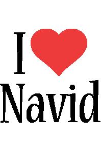 Navid i-love logo
