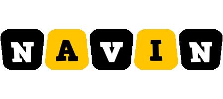 Navin boots logo