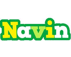 Navin soccer logo