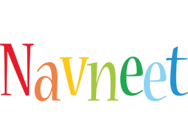 Navneet birthday logo