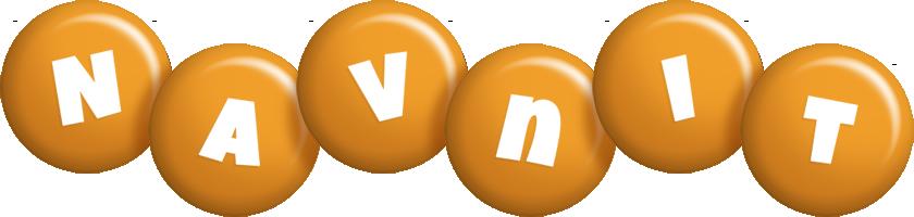 Navnit candy-orange logo