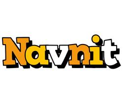 Navnit cartoon logo